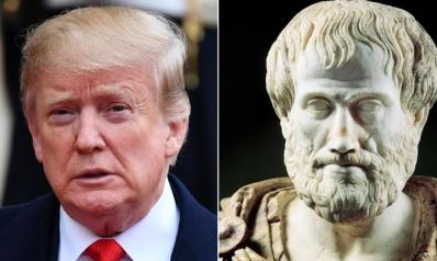 يتحدث عاطفياً ولا يقول شيئاً.. ما رأي أرسطو في ترامب؟