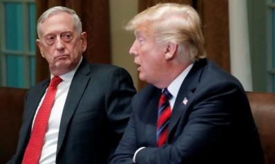"""وزير الدفاع الأميركي يستقيل ويفسح المجال """"لأفكار ترامب"""