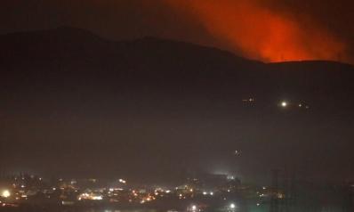 صواريخ إسرائيلية تضرب ضواحي دمشق