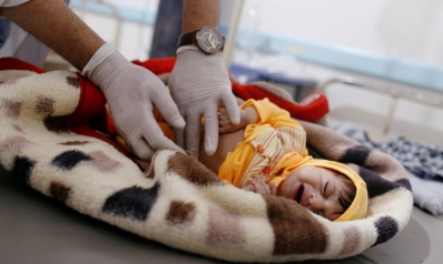 تعقيم إمدادات المياه في صنعاء مع تفشي الكوليرا
