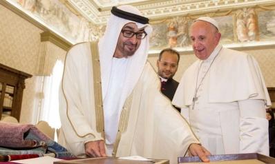 البابا فرنسيس في زيارة إلى الإمارات أرض التسامح والسلم