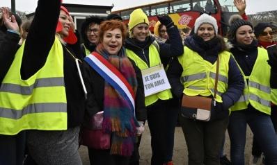"""""""السترات الصفراء"""" تستعد لـ""""سبت الاحتجاجات"""" الحادي عشر بفرنسا"""