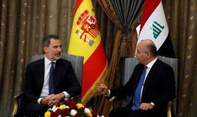 ملك إسبانيا يبحث عن دور لبلاده في إعادة إعمار العراق