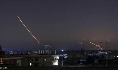 قتلى في الهجمات الصاروخية الإسرائيلية على سوريا