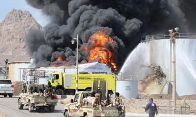 السيطرة على حريق بمصفاة نفط في عدن