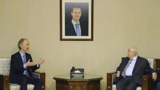 المبعوث الأممي الجديد يغادر سوريا مؤكدا الحاجة إلى حل سياسي للنزاع