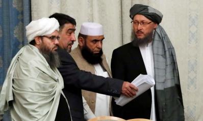 محادثات سلام بين طالبان وواشنطن وسط غياب الحكومة