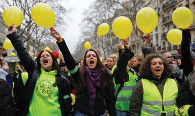 """في صعوبة التعامل مع ظاهرة """"السترات الصفراء"""" في فرنسا"""