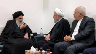 السيستاني يطالب بنزع أسلحة الميليشيات بعد لقاء روحاني