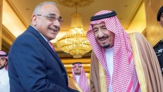 زيارة عادل عبدالمهدي للسعودية اختبار جدي لسياسة النأي عن إيران