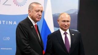 ما يجمع بين اردوغان وبوتين خارج سوريا أكبر بكثير مما يتنازعان عليه داخلها