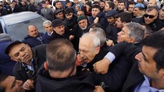 اعتداء بالعنف على زعيم حزب معارض في تركيا