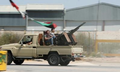 قوات حفتر تتراجع في غريان عقب اشتباكات جنوبي طرابلس