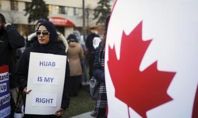 """""""لا نحب الإسلام"""".. جماعة يمينية تحمل السلاح ضد مسلمي كندا"""