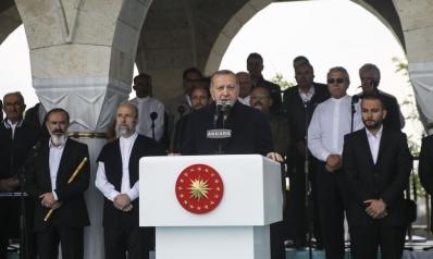 أردوغان: تركيا تعارض كل ما يمس حل الدولتين