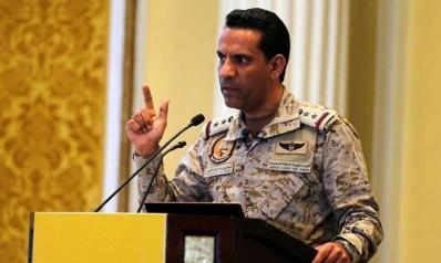 التحالف العربي يتوعد برد حازم حيال الهجمات الحوثية