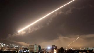 لليوم الثاني.. صواريخ إسرائيلية فوق سوريا