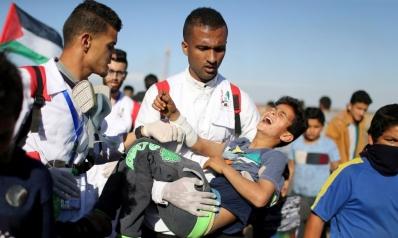 أربعة شهداء وعشرات الجرحى في تصعيد إسرائيلي بغزة
