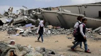 مدارس غزة.. رياح العدوان تطفئ شموع العلم