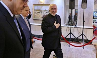 ظريف يلمس في بغداد التردد الحكومي عن تلبية أي مطالب إيرانية
