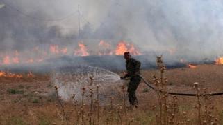 عراقيون يعزون حريق معمل كبريت المشراق إلى الفشل الحكومي