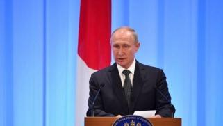 """فلاديمير بوتين يسلط الضوء على """"أفول الليبرالية"""""""