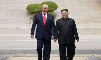 ترامب أول رئيس أميركي يدخل كوريا الشمالية في سابقة تاريخية