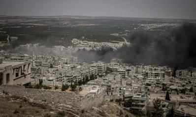 الأمم المتحدة: القصف المتواصل لإدلب منذ 90 يوما تسبب بمذبحة