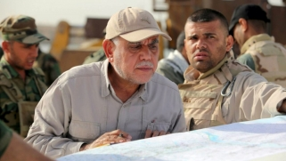 اجماع عراقي على قيام طائرة اسرائيلية بقصف معسكر الحشد الشعبي