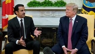 تعزيزا للتعاون الإستراتيجي.. ترامب يلتقي الشيخ تميم