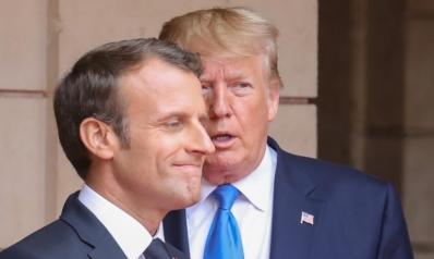 """ترامب يندد بـ""""غباء"""" ماكرون ويهدد بفرض ضريبة على النبيذ الفرنسي"""