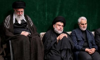 الصدر في حضرة خامنئي وسليماني لدعم مشروع الإسلام الشيعي
