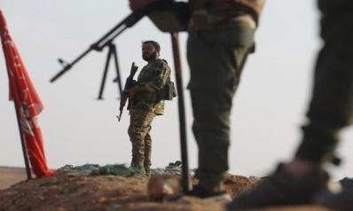 الحدود العراقية السورية: نقطة تجمع المليشيات