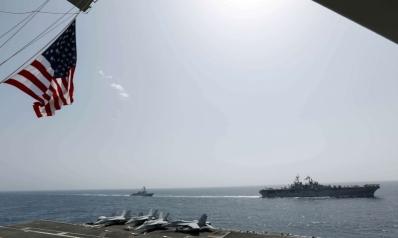 طهران تهدّد واشنطن: حاملات الطائرات في مرمى صواريخنا