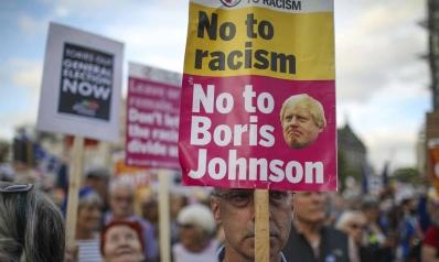 جونسون يدعو لانتخابات مبكرة بعد هزيمة مدوية في البرلمان