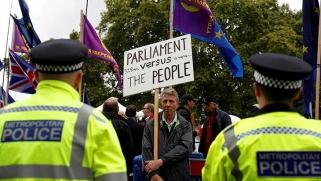 ديكتاتورية الديمقراطية في الأزمة السياسية البريطانية