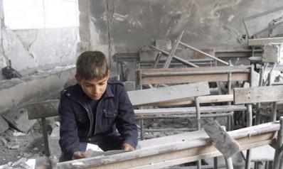 التعليم في إدلب السورية بين مطرقة الحرب وسندان المنح الدولية