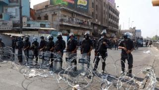 قوة جاهزة للاشتباك رسالة الحكومة العراقية لترويع المحتجين