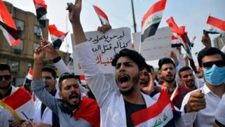 تجدد المظاهرات العراقية الاحتجاجية في بغداد والمحافظات