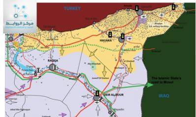 """""""دير الزور"""" في الاستراتيجية الإيرانية"""