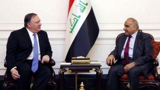 """عبدالمهدي """"يطمئن"""" واشنطن حيال تطورات الوضع بالعراق"""