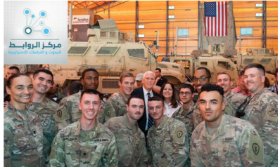 """مايك بنس في قاعدة """"عين الأسد""""…واشنطن بانتظار الرابح في احتجاجات العراق وإيران"""
