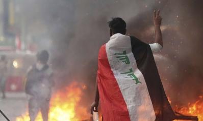 هدوء حذر يسود بغداد المنفجرة شعبيا في وجه الحكومة