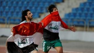 المنتخب العراقي ينتفض مع المتظاهرين ويهزم إيران