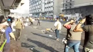 أنكرت سقوط ضحايا ببغداد.. السلطات العراقية تتهم طرفا آخر بقتل المتظاهرين