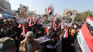 مظاهرة لأنصار الحشد في بغداد وجلسة مرتقبة للبرلمان