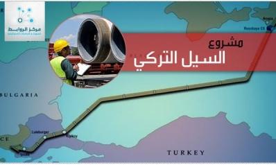 """""""السيل التركي"""" يرسم خارطة الطاقة الجديدة"""