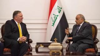 العراق.. عبد المهدي وبومبيو يبحثان هاتفيا مصير القوات الأجنبية وحماية السفارة الأميركية