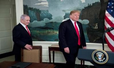 ترامب سينشر بحلول الثلاثاء تفاصيل صفقة القرن في الشرق الأوسط