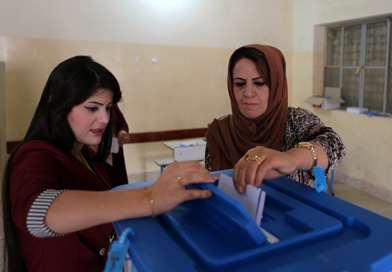 Iraqi Kurds vote in referendum on independence from Baghdad